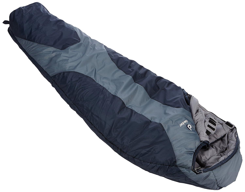 Deuter Orbit-5° SL Saco de Dormir, Mujer, Gris (Silver/Anthracite), Talla Única: Amazon.es: Deportes y aire libre