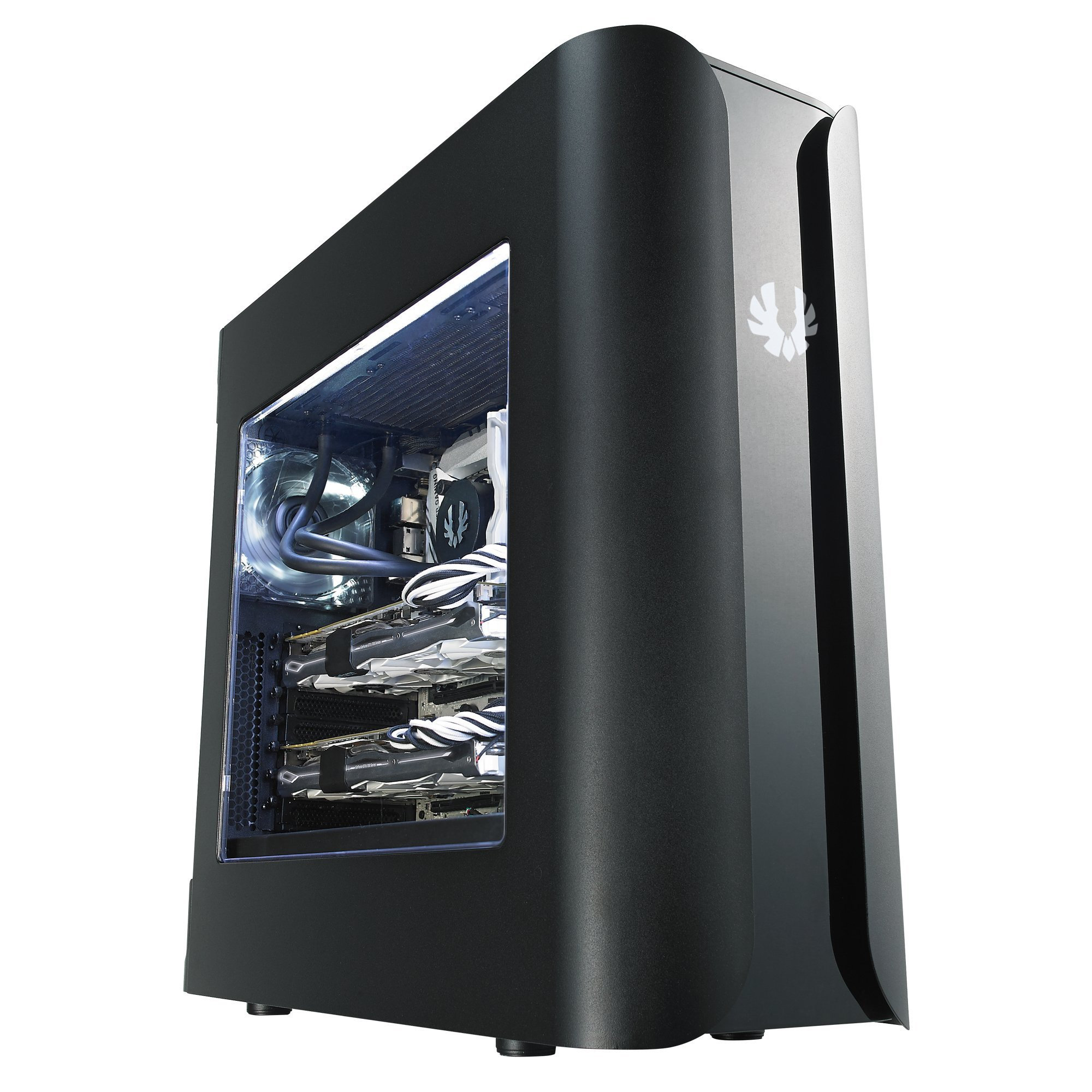 BitFenix Pandora ATX Core BFC-PAN-600-KKWN1-RP No Power Supply ATX Mid Tower, Black
