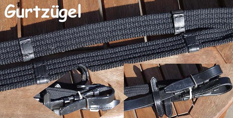 Tysons Breeches Langz/ügel Z/ügel Kaltblut extra lang 3 o 4 Meter Gurtz/ügel