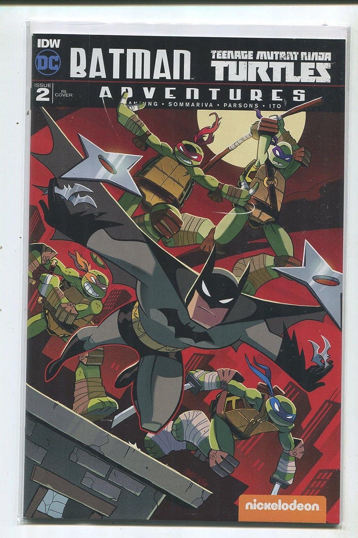 Amazon.com: Batman-Teenage Mutant Ninja Turtles #2 NM RI ...