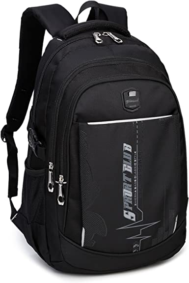 Shoulder personality usb casual mens computer light student backpack