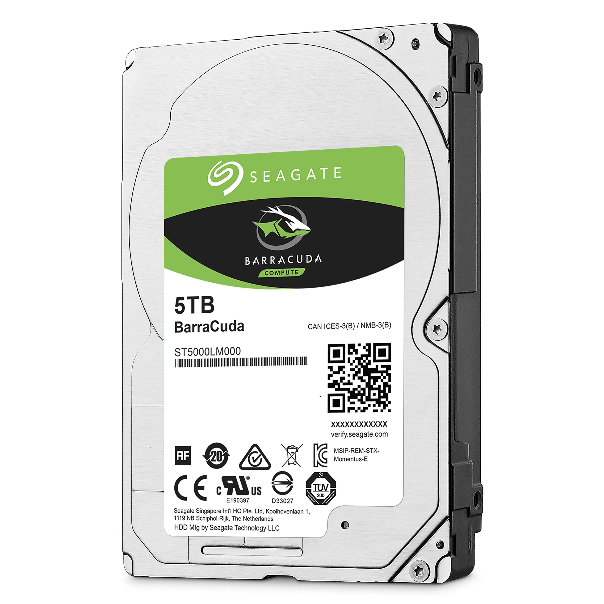 Seagate 5TB Barracuda Sata 6GB/s 128MB Cache 2.5-Inch 15mm Internal Bare/OEM Hard Drive (ST5000LM000) by Seagate (Image #4)