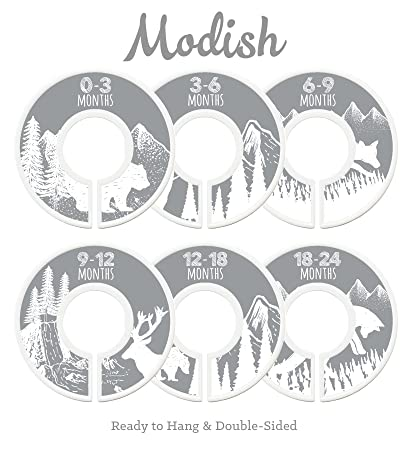 Modish Labels Baby Nursery Closet Dividers, Closet Organizers, Nursery  Decor, Baby Boy,
