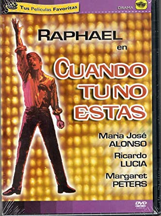 Raphael Cuando Tu No Estas Dvd Pelicula Movies Tv