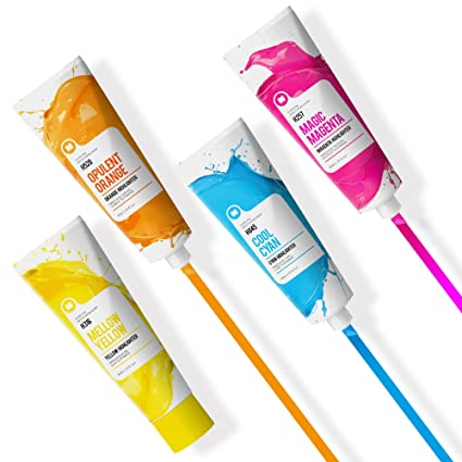 Mustard Color Pro - Paint Tube Shaped Highlighters (M16049