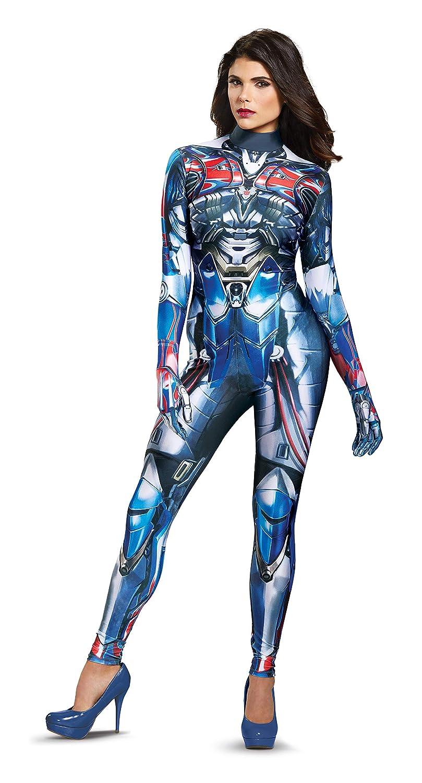Disguise Women's Optimus Prime Movie Female Bodysuit Costume
