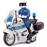 Dickie Toys 203712004 - Police Bike, Polizeimotorrad, 15 cm