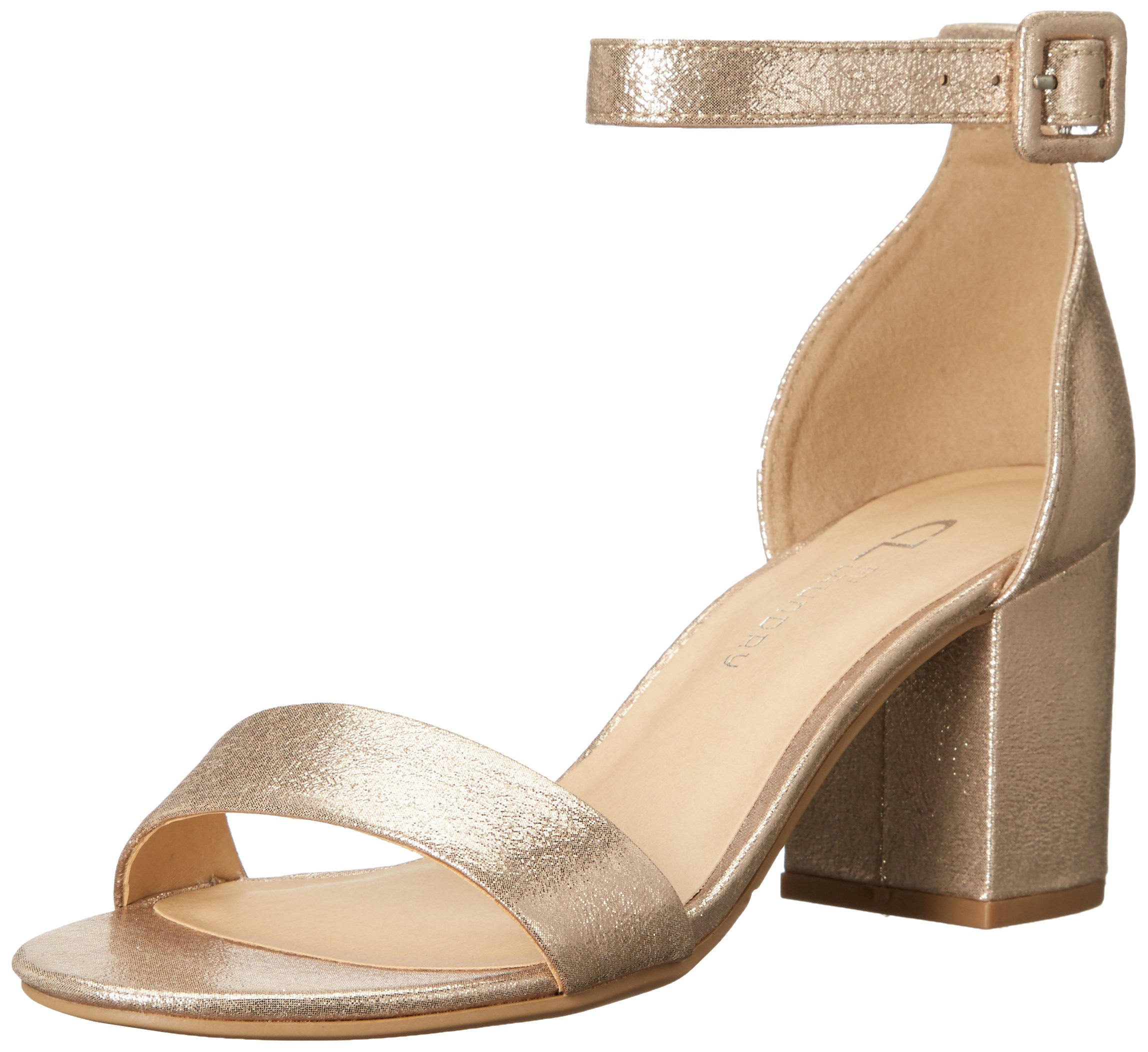 CL by Chinese Laundry Women's Jody Dress Sandal, Light Gold Starstone, 9 M US