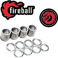 Fireball Dragon - Separadores y Arandelas para monopatín y Longboard