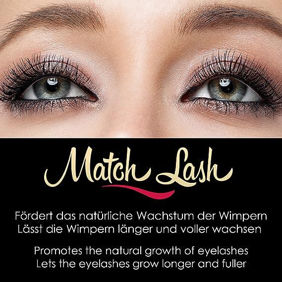 match Lash 8 ml. pestañas Serum & Cejas Serum fabricado en Alemania para crecimiento/rápida pestañas pestañas Booster/Eyelash Growth Serum/pestañas ...