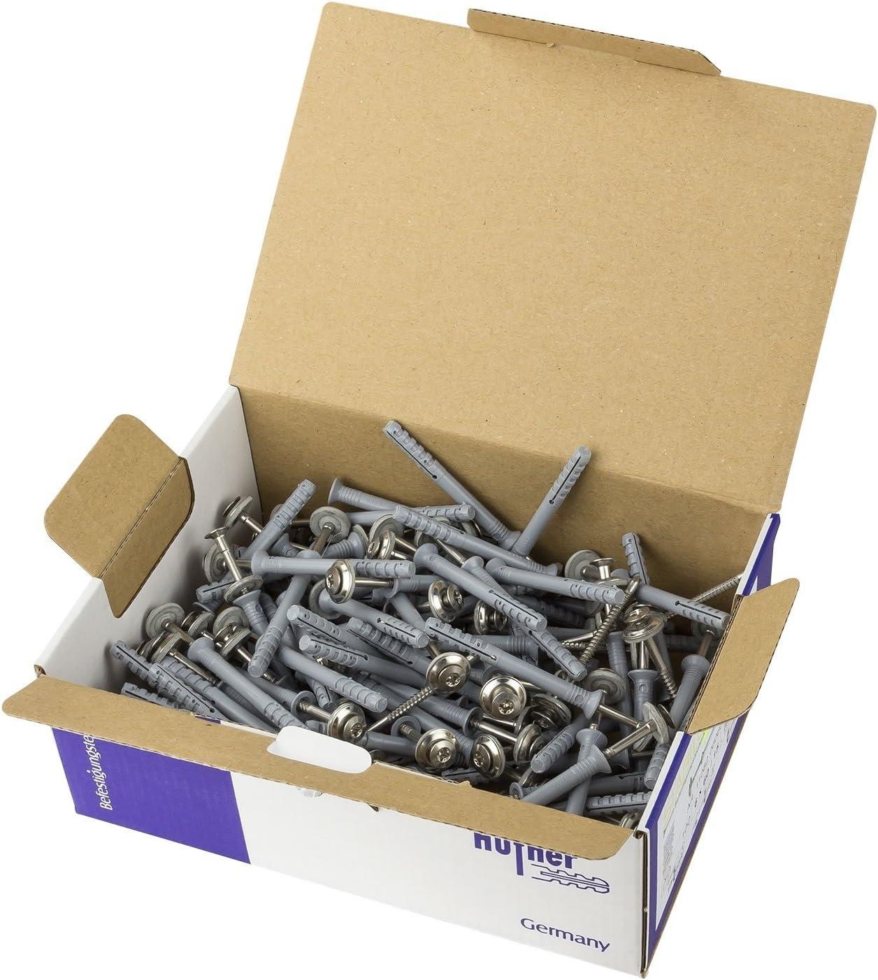 Nageld/übel Senkkopf A2 6x40 mit 15mm Dichtscheibe