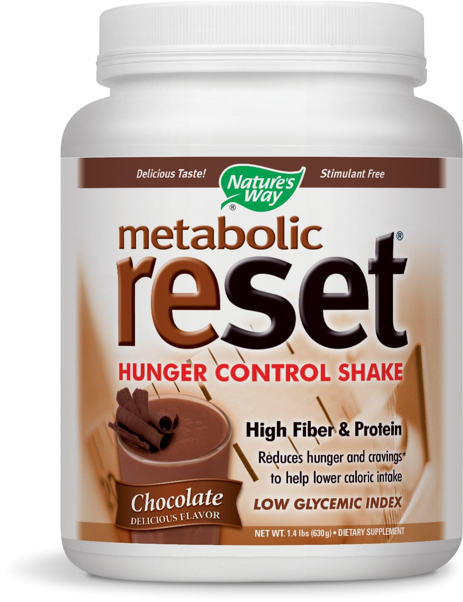 Nature's Way Metabolic ReSet, Chocolate, 630g