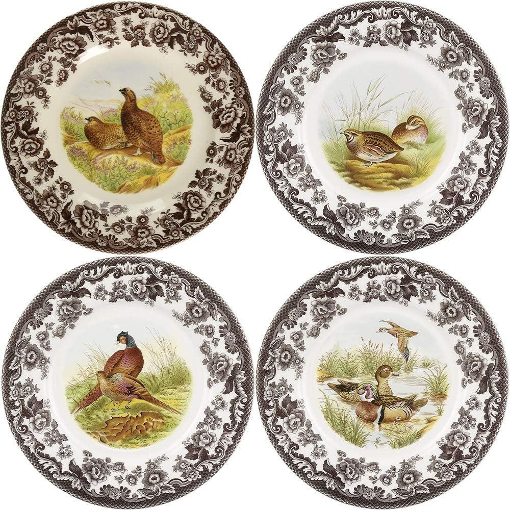 15x12 Spode Woodland American Wildlife Deer Design Handled Lasange Dish