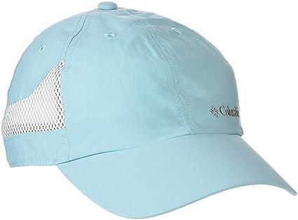 Columbia Tech Shade Hat Gorra con Protección Solar 50, Hombre, Azul (Iceberg)