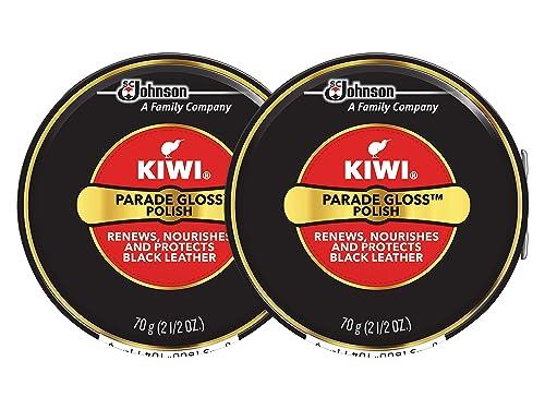 a14022136e190 Kiwi Parade Gloss Shoe Polish - Black - 2.5 oz. - Large