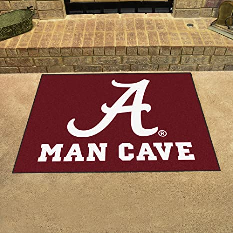 Amazon Com University Of Alabama Man Cave All Star 34 X45 Fan