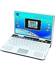 VTech - Ordenador Genius XL Pro Bilingüe, Computer Kid, Plata (133845) (