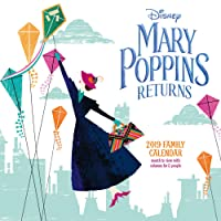 Mary Poppins Classic Family Organiser Official 2019 Calendar
