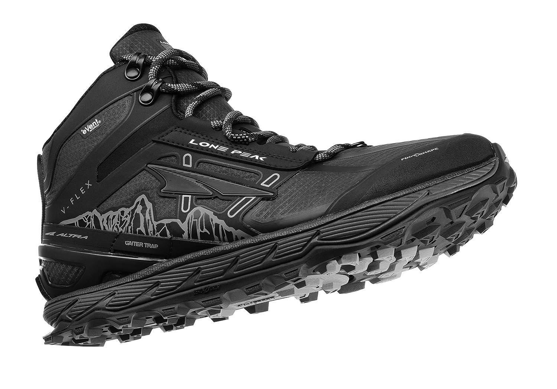 34908657bee Altra Men's Lone Peak 4 Mid RSM Waterproof Trail Running Shoe