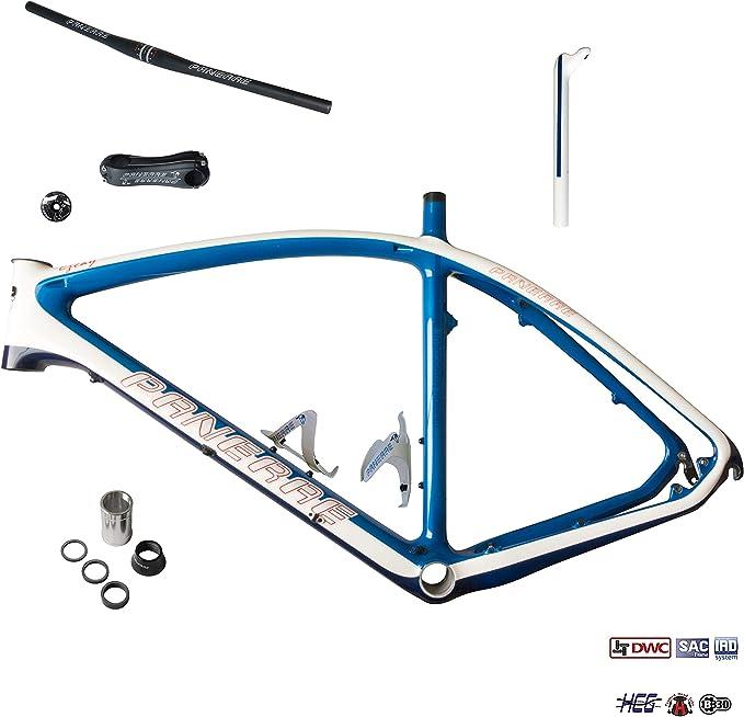 PANERAE - Kit Total Cuadro Bicicleta Fibra de Carbono MTB - 26