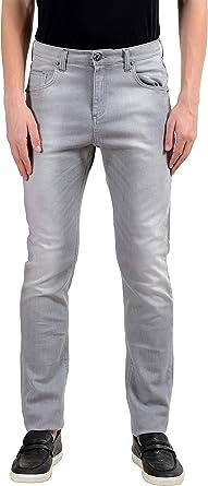 Amazon Com Versace Jeans Pantalones Vaqueros Elasticos Para Hombre Talla 30 It 46 Clothing