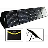 ALLSPARK New 2018 Upgraded 215W (was 200w) Solar Blanket Mat Folding Panel Camping Caravan Boating Charge Battery Power