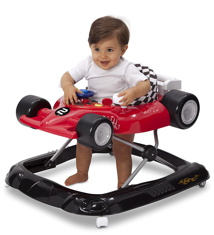 Delta Children Deluxe Lil' Drive Baby Activity Walke