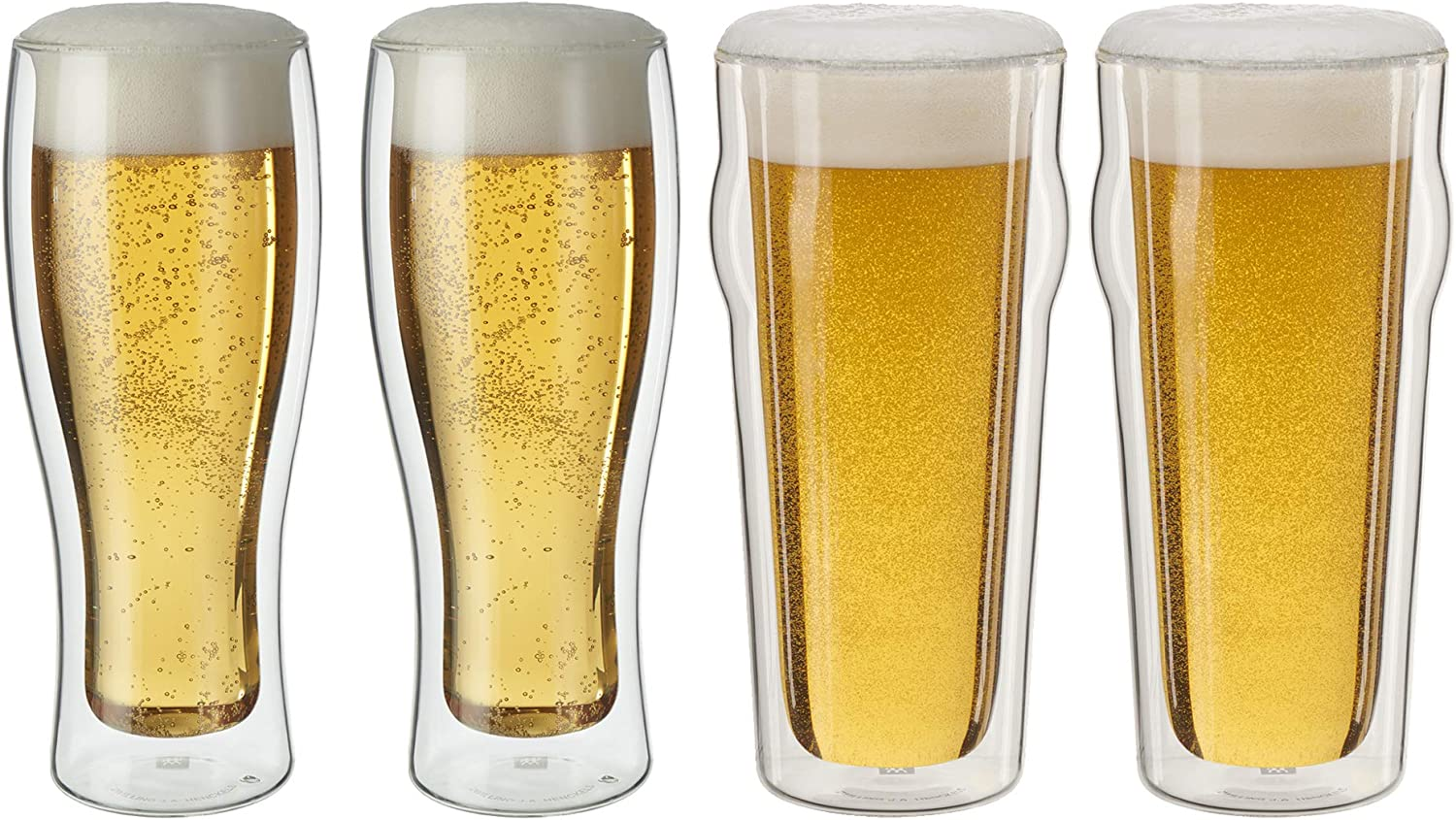 ZWILLING Sorrento Double Wall Pint Glass, 4-pc