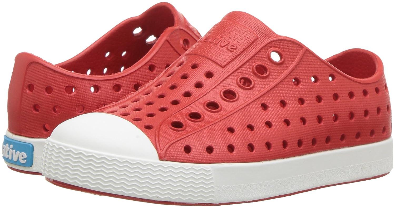 Torch Red//Shell White 22 EU // 6 US C Native Shoes Jefferson Child Espadrilles Mixte Enfant Rouge