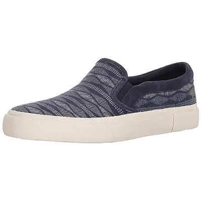 Frye Men's Ludlow Slip Canvas Print Sneaker: Shoes
