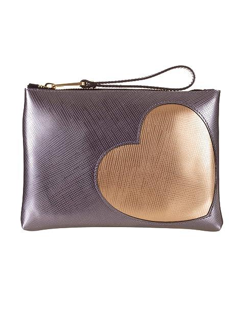 GUM - Cartera de mano de Caucho para mujer Plateado Iron talla de un talla: Amazon.es: Zapatos y complementos