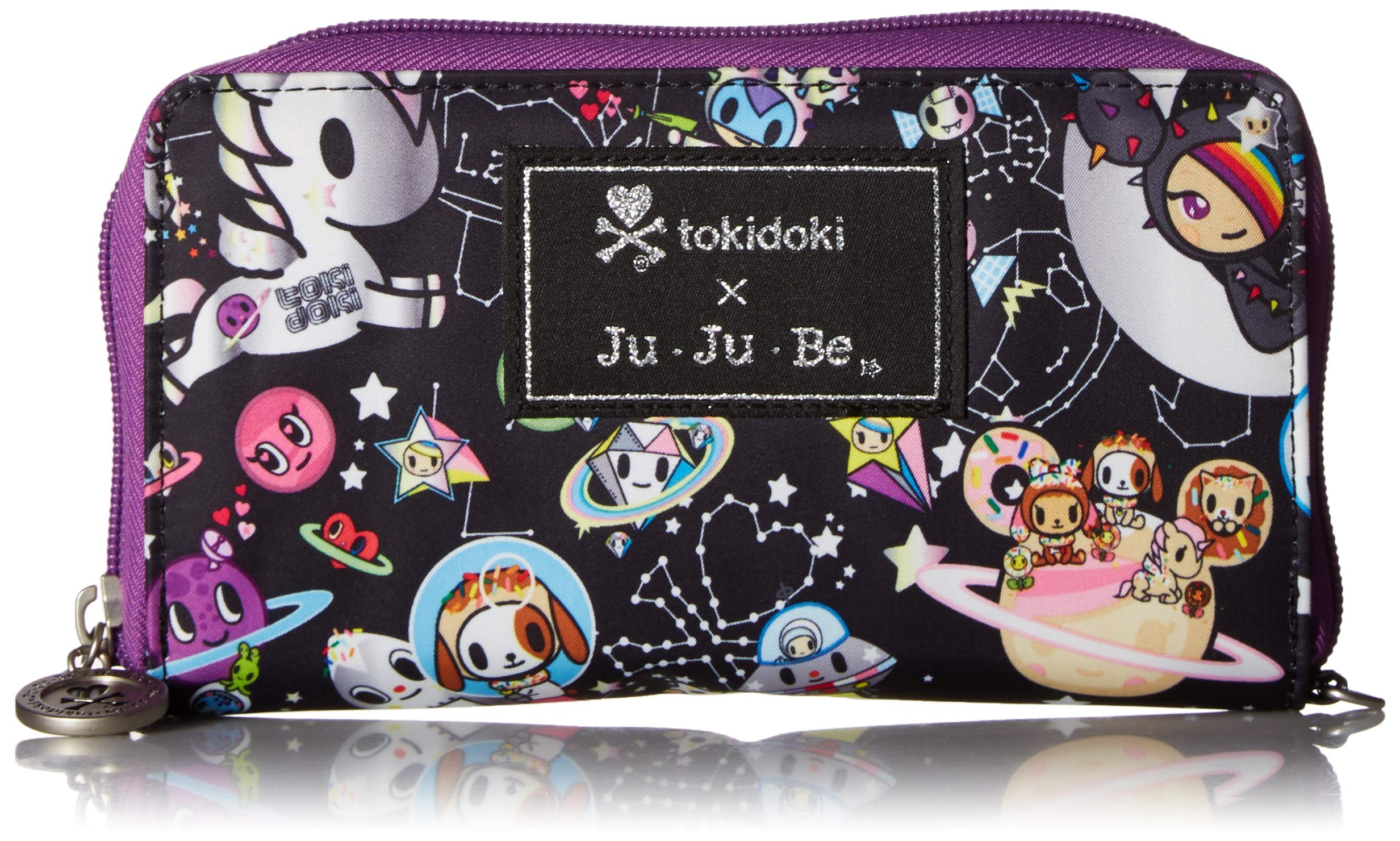 JuJuBe Be Spendy Zippered Wallet, Space Place