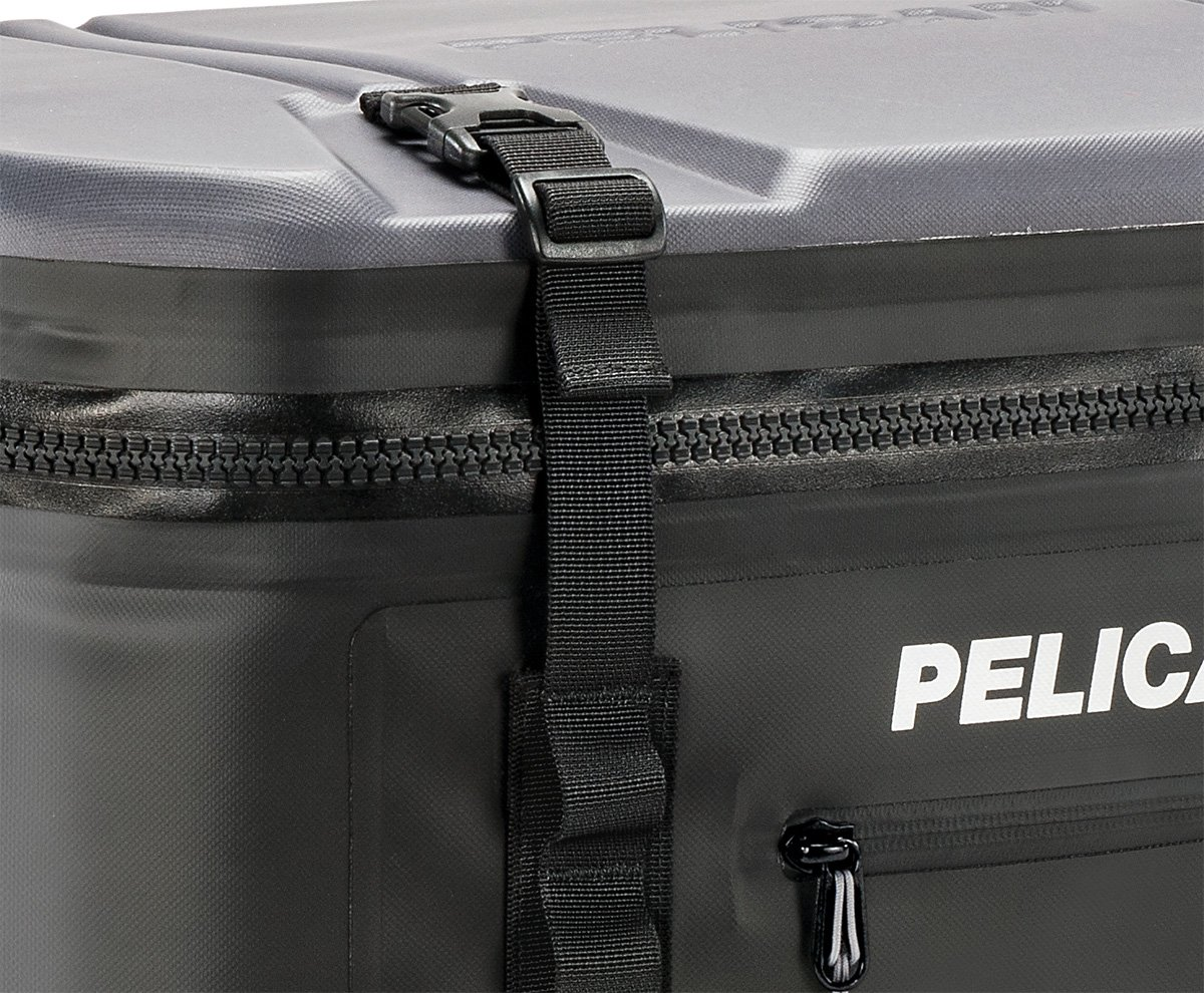 Pelican Elite Soft Cooler Black Pelican Products Inc SOFT-SC12-BLK