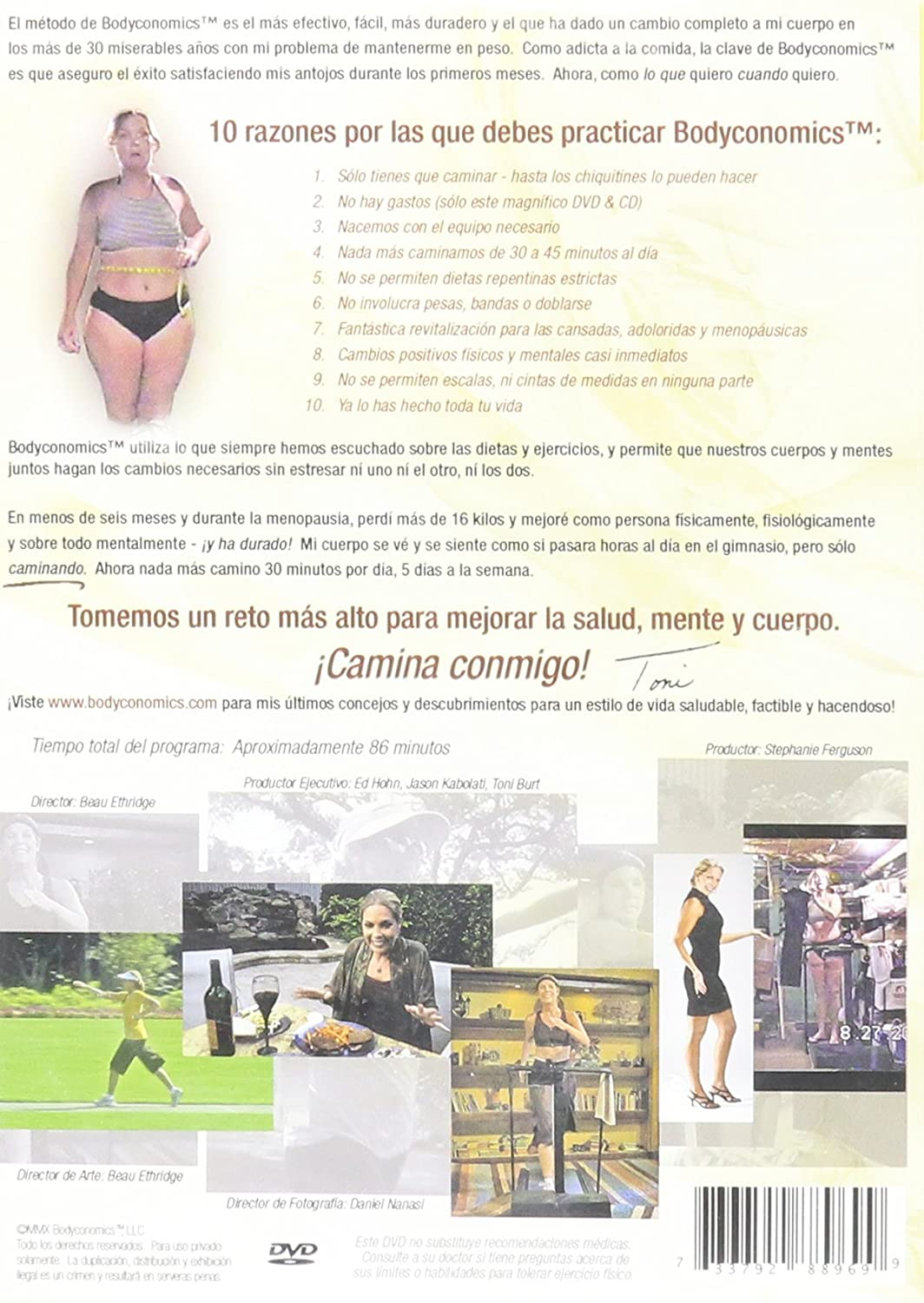 Amazon.com: Bodyconomics 101: Caminando y Mejorando: Toni Burt, Beau Ethridge, Stephanie Ferguson: Movies & TV