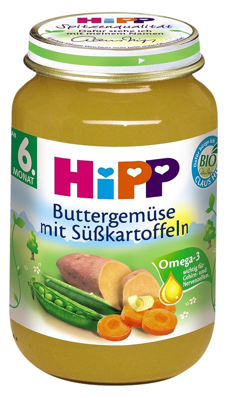 Hipp Buttergemüse mit Süßkartoffeln