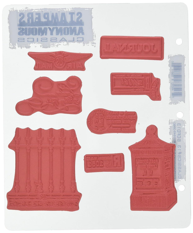 Stampers Anonymous Rubber Stamp Stamp Stamp Set 7 X8.5 -Classics  12 B00I3ODJB2 | Sonderangebot  6e9023