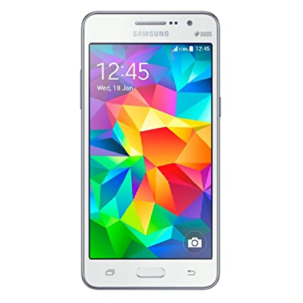Samsung Galaxy Grand Prime Dual Sim Factory Unlocked Phone - Retail  Packaging - White (International Version)