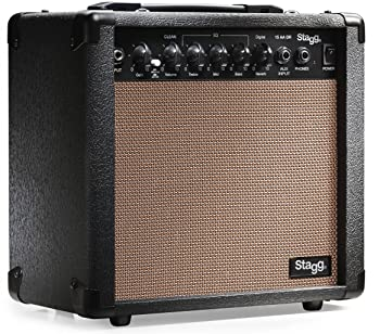 Stagg 15 AA DR USA 15-Watt Acoustic Guitar Amplifier