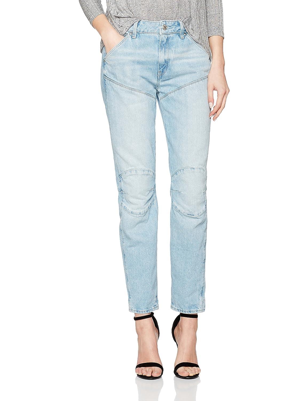 TALLA 25W / 32L. G-STAR RAW 5620 Elwood 3D Mid Waist Boyfriend Jeans para Mujer
