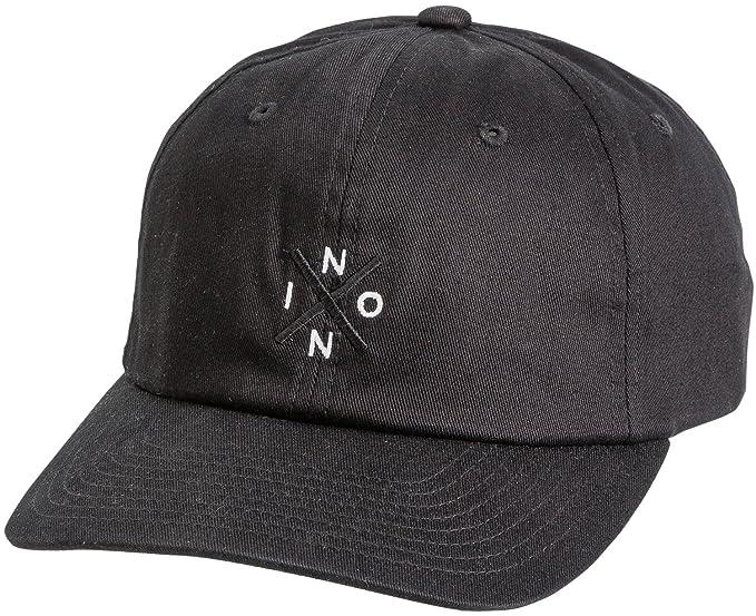 online store dde4f b76f4 NIXON Unisex Prep Strapback Hat Black One Size