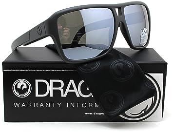 Dragón La Mermelada H2O flotante, gafas de sol polarizadas Mate Gris w/gris Ion