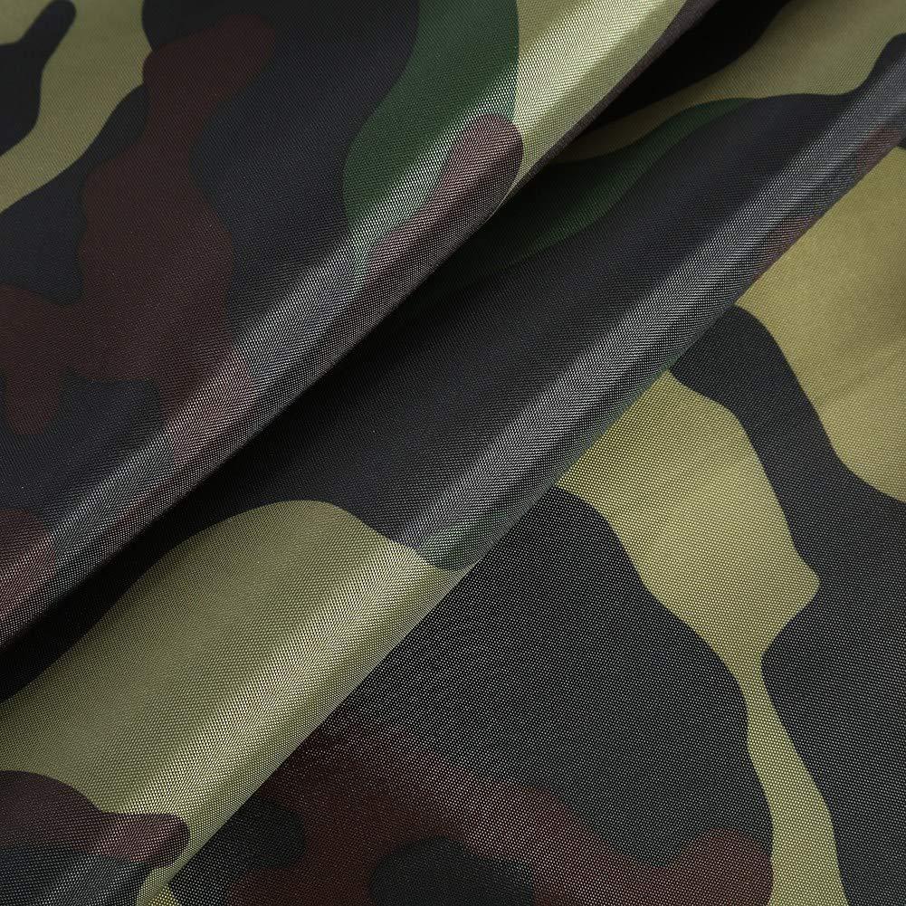 Nylongewebe tragbare Zeltplane Leichte Regenschutzmatte RainTent Tarp Shelter Keenso Camouflage Outdoor tragbare Zeltplane