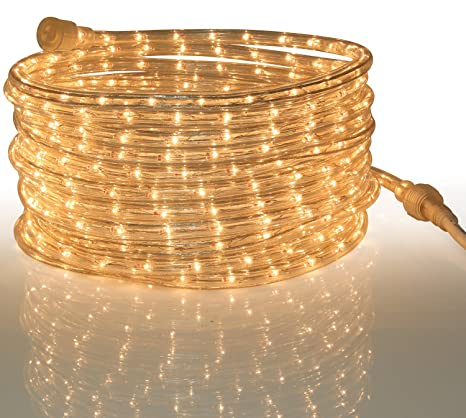 7e64406444 Amazon.com   Tupkee Rope Light Clear - for Indoor and Outdoor use ...