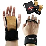 FLASH SALE Cross Training Gloves with Wrist Wraps- Hand Grips for Palm Protection- Workout Gloves for Crossfit, WODs, Weight Lifting, Gymnastics, Fitness- For Men & Women - Premium Quality Leather