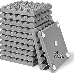 24PC Acoustic Foam Panels, 2