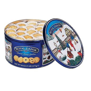 Royal Dansk Danish Butter Cookies 4 Pound Tin