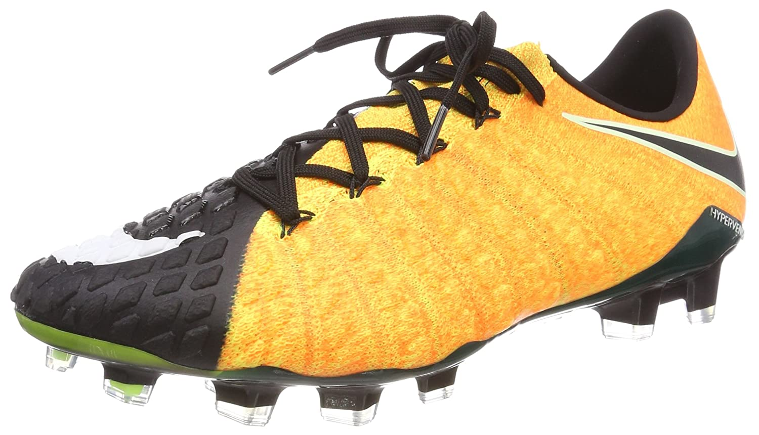 buy online 45a0b a4ac5 NIKE Men's Hypervenom Phantom III FG - (Laser Orange/White Black)