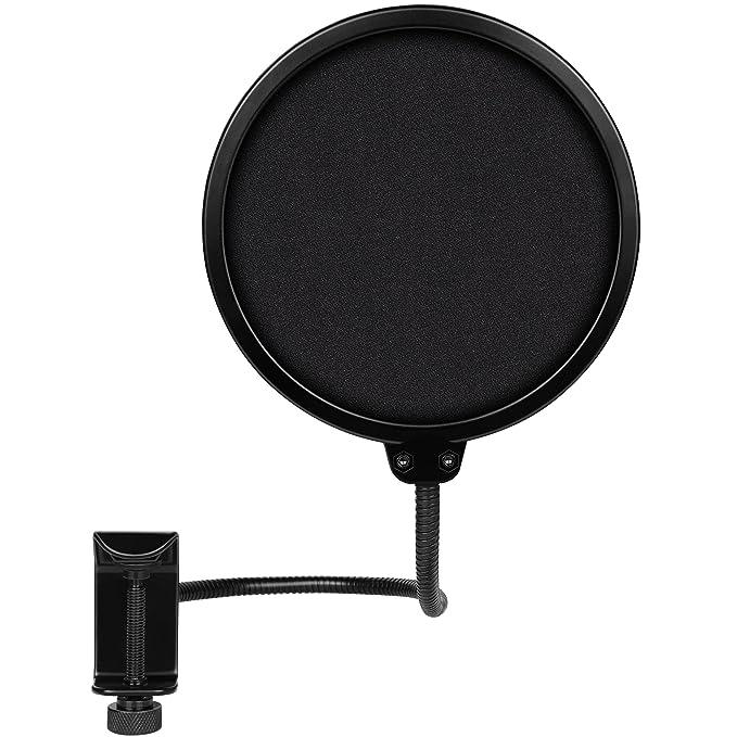 3 opinioni per BC Master 13.5CM Clip in Metallo Filtro Antipop per Blue Yeti Snowball Microfono