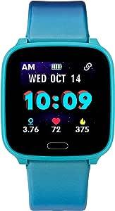 Timex Unisex iConnect Kids Active Quartz Smart Watch Blue Digital Display,TW5M40600