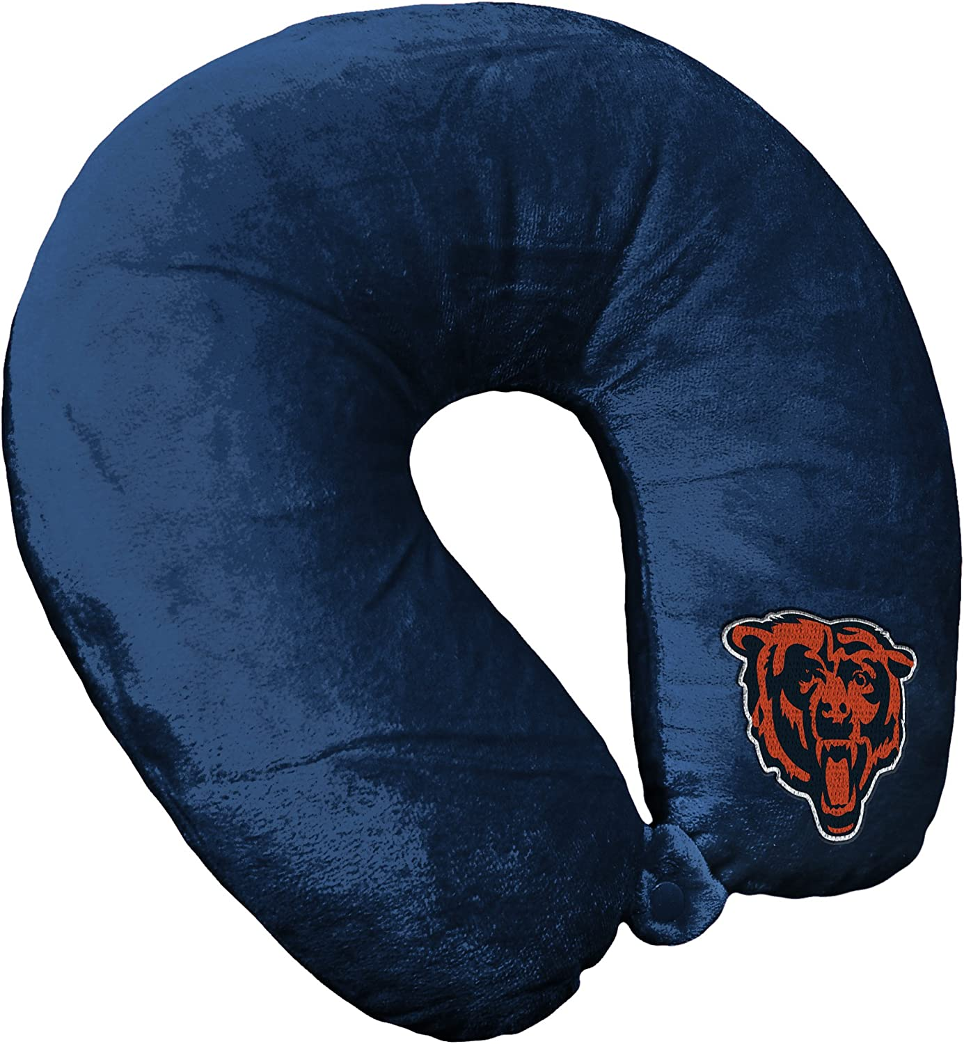 Officially Licensed NFL Travel Neck Pillow Multi Color One Size